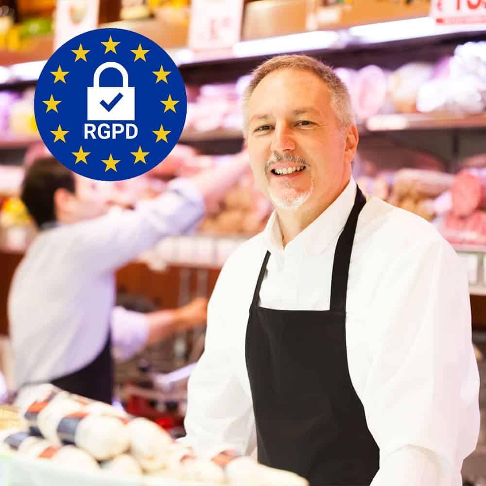 rgpd doconnect avis google commerce de proximite boucherie fromagerie charcuterie cafe bar