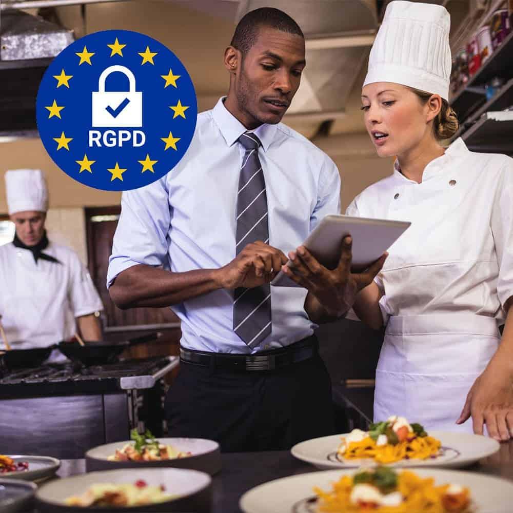rgpd doconnect hotel restaurant metiers de bouche hotellerie-restauration avis google restaurant traiteur