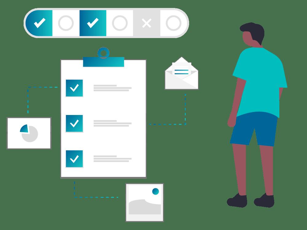 schema fonctionnement questionnaires doconnect reputation parties prenantes