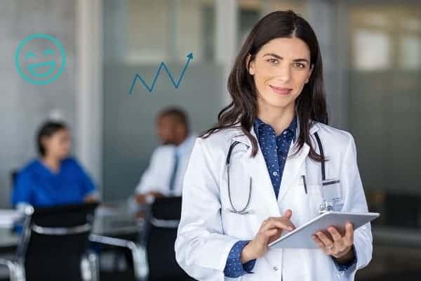 professionnels de sante importance avis google my business avis patients en ligne doconnect