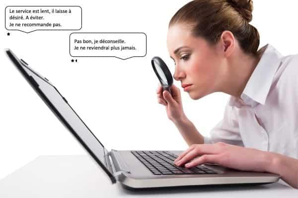 reperer faux avis sur le web professionnels de sante doconnect