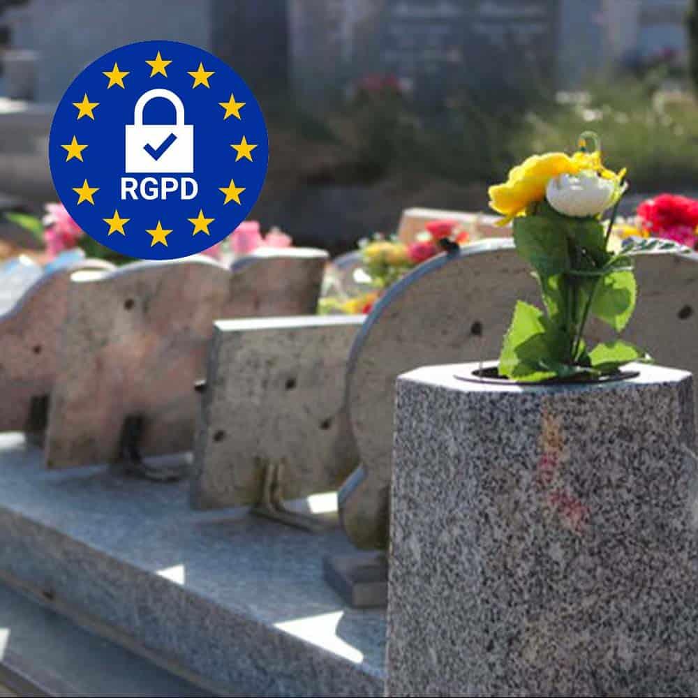 rgpd doconnect pompes funebres obseques organisation de service feneraire